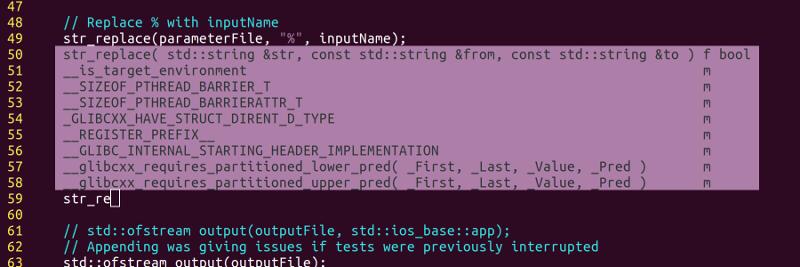 Semantic tips in Vim with YCM
